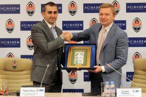 Контракт между Аджибадем и ФК Шахтер, Украина