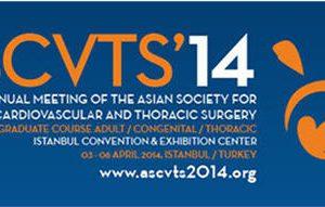 3-6 Апреля 2014 года – 22-й Конгресс Азиатского общества по сердечно-сосудистой и торакальной хирургии(ASCVTS)